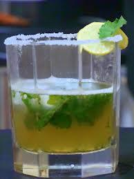 cocktail givré coco râpée