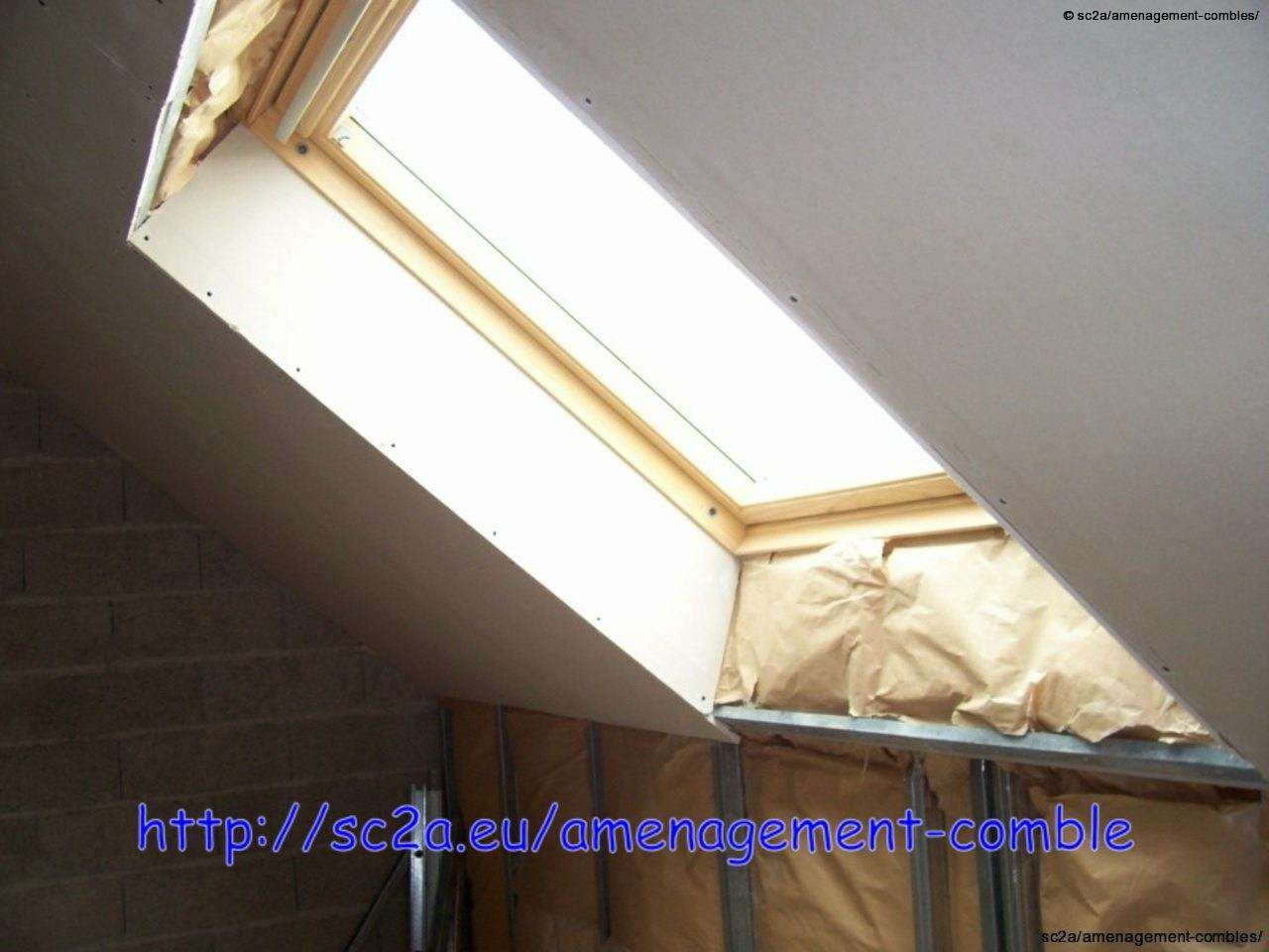 Placoplatre for Comment poser des velux