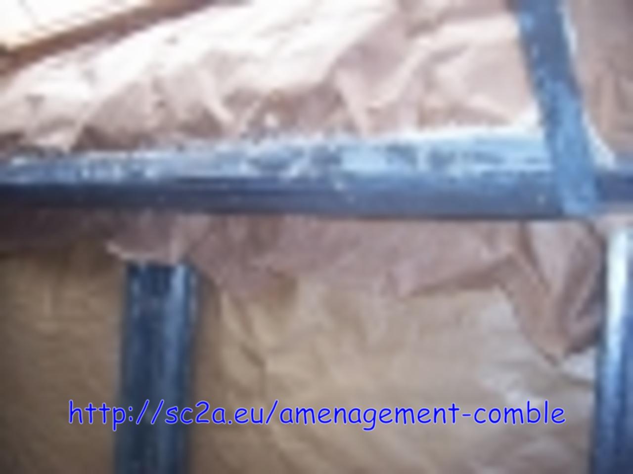 encadrement velux placoplatre  avec cornières métalliques