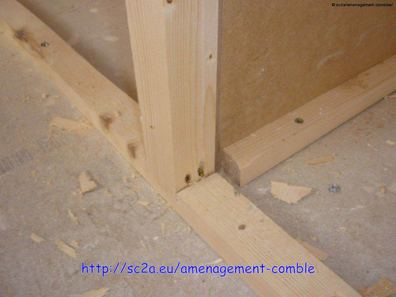 Faire ses placards soi m me am nagement des combles for Construire une porte