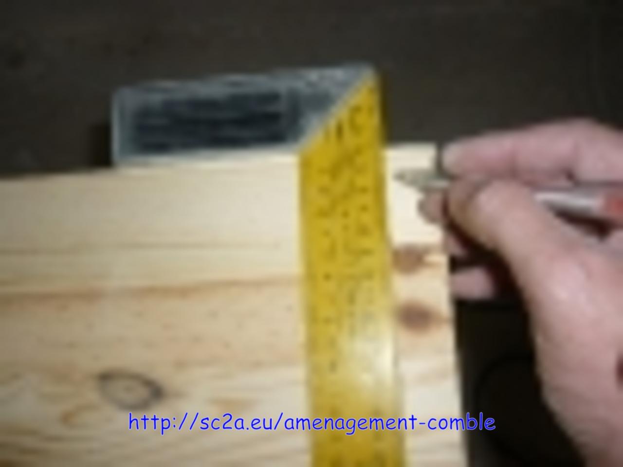 faire des tiroirs sur mesure avec défonceuse, mesure 1