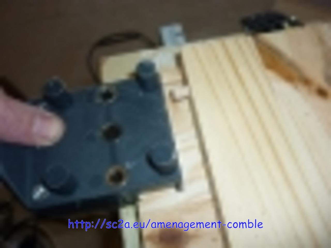 faire des tiroirs sur mesure, positionnement des trous de tourillon