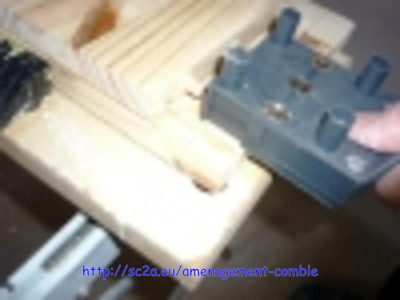 faire des tiroirs sur mesure, positionnement des trous de tourillon 2