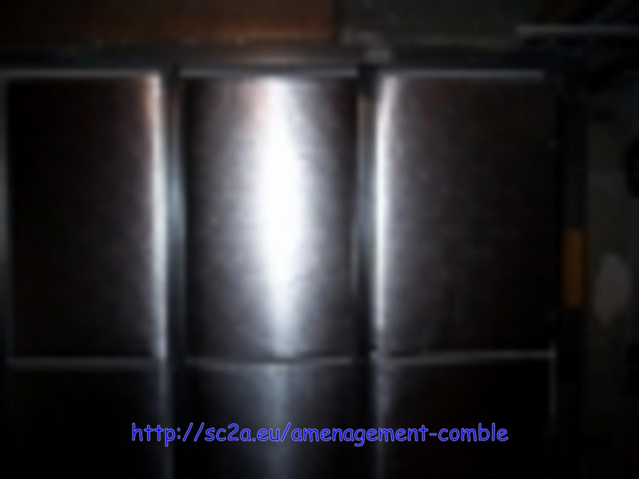 isolation sur porte de garage métallique 2