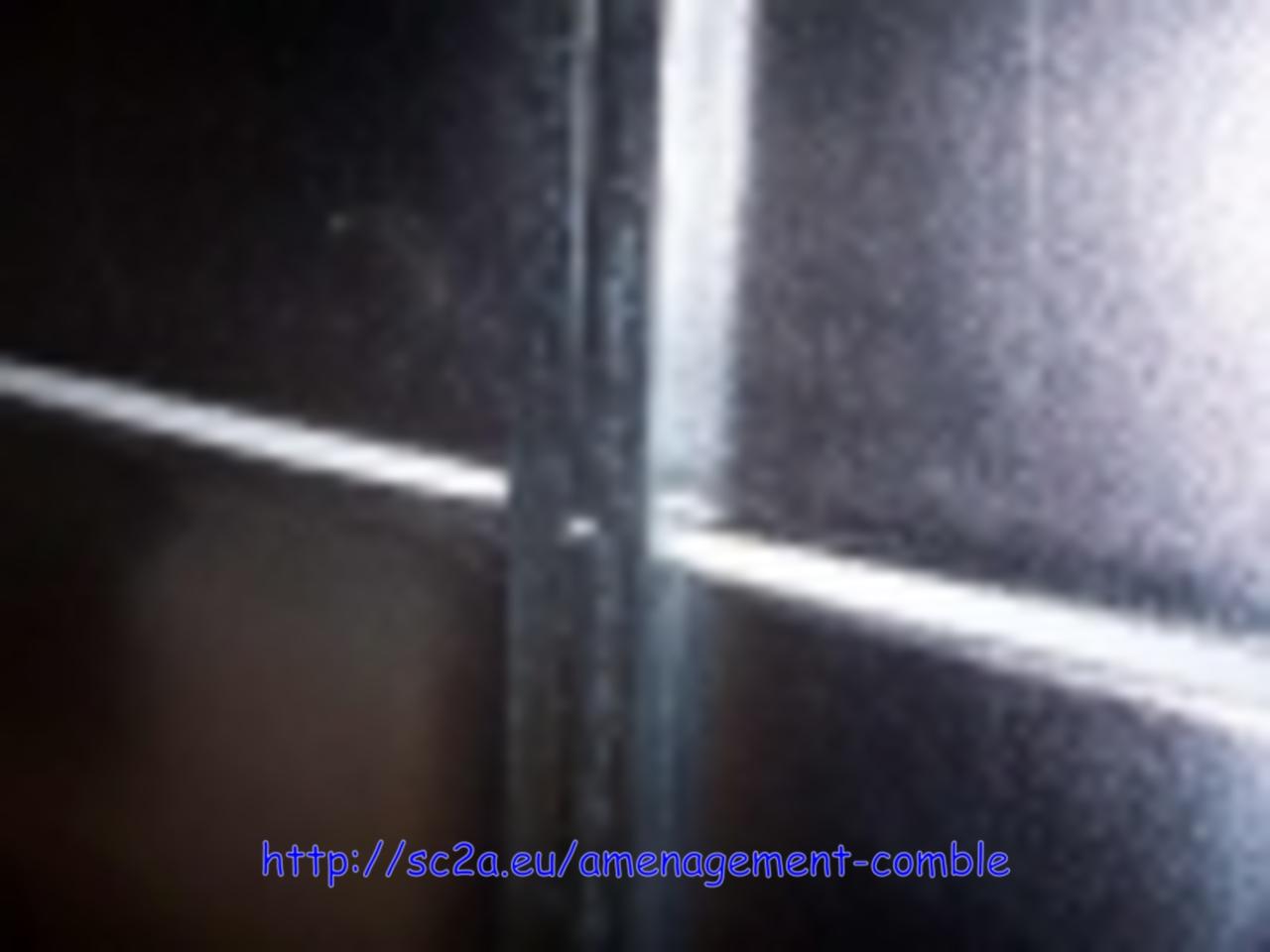 isolation laine de verre sur porte de garage