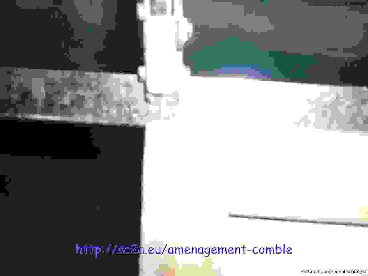 assemblage rails cloisons placo 2