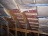 comment poser  l'isolant laine de verre dans les combles 1