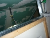 assemblage rails cloisons placoplatre combles