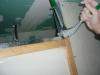 sertissage rails cloisons placoplatre combles