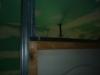 sertissage rails cloisons placoplatre combles 2