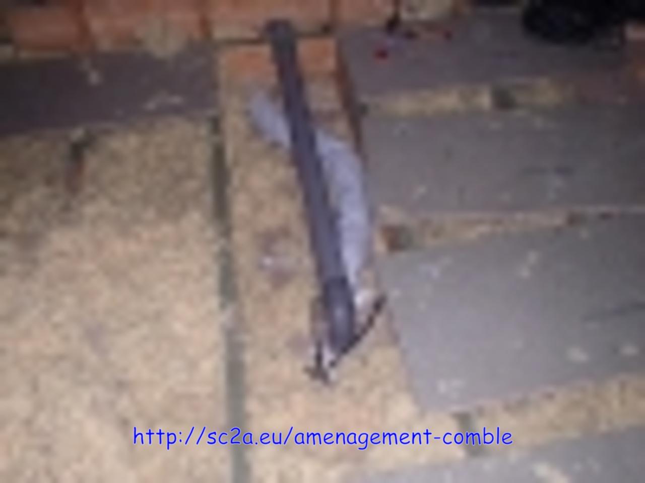passage tuyau évacuation sous dalles plancher