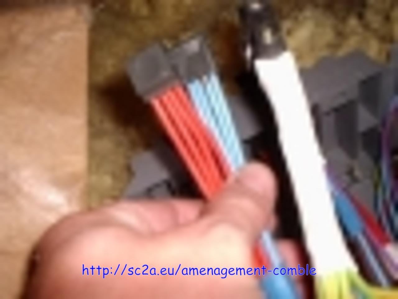 modification électrique avant la pose des dalles 5