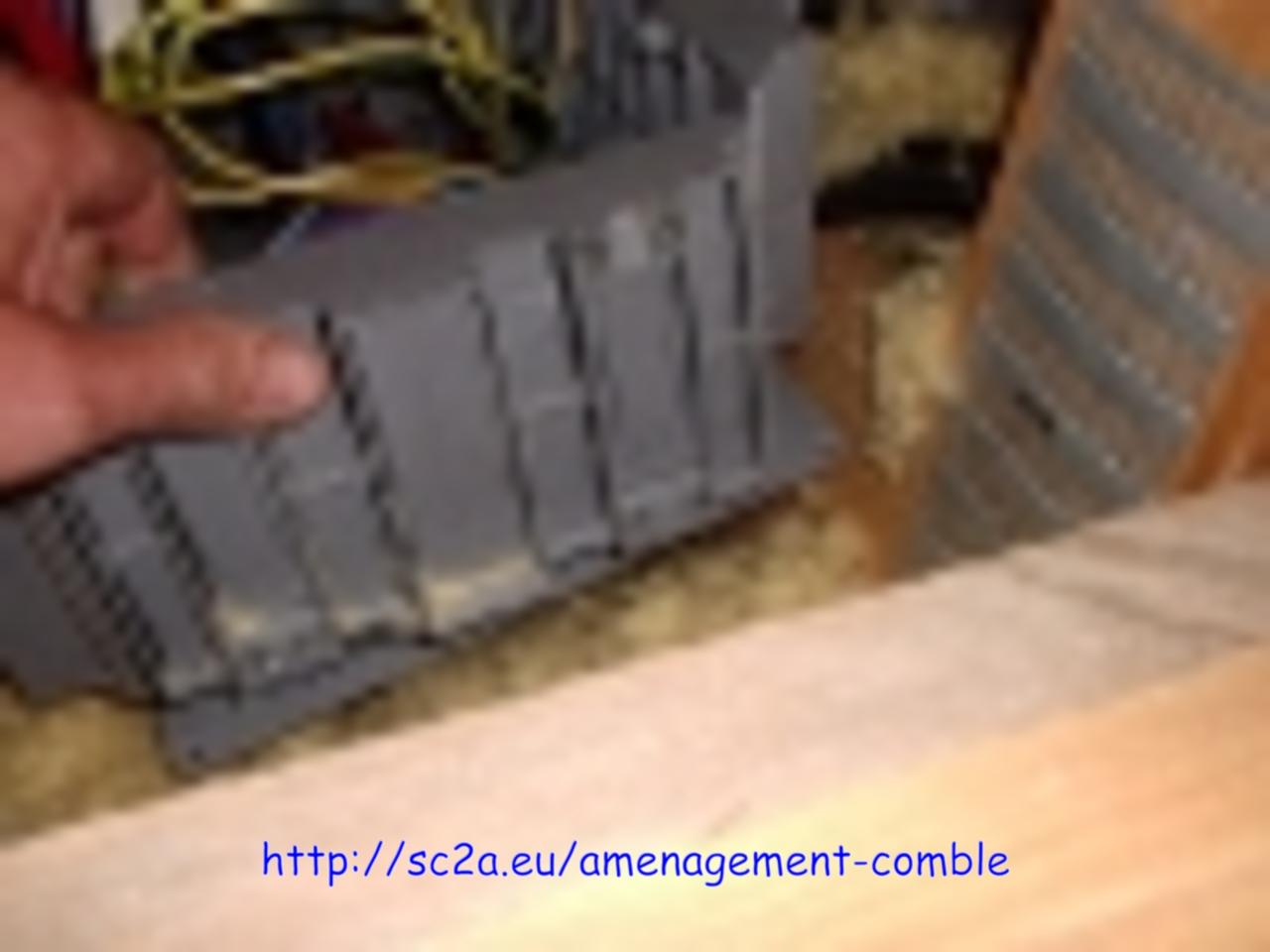 modification électrique avant la pose des dalles 6