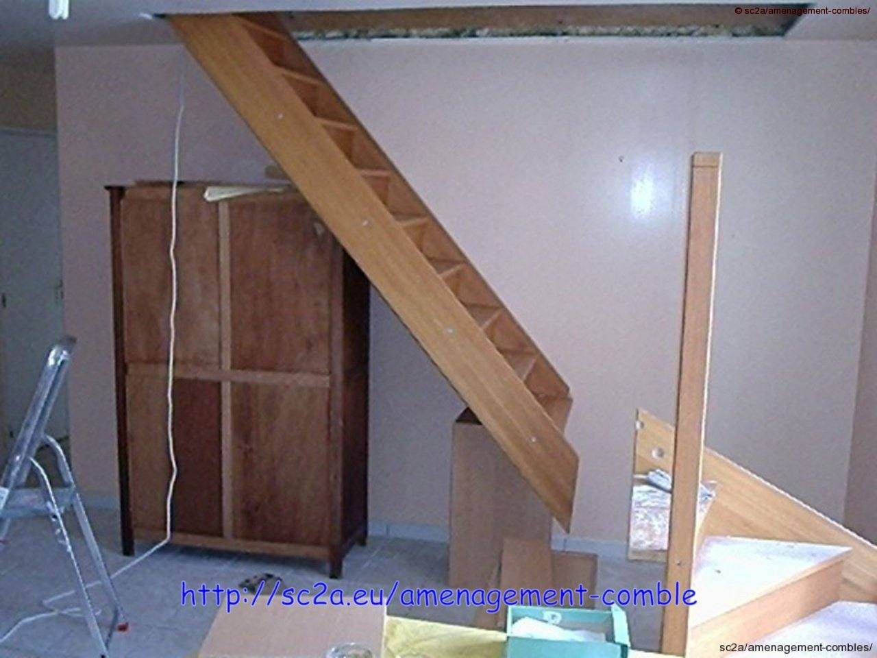 Installer Un Escalier poser un escalier – aménagement des combles