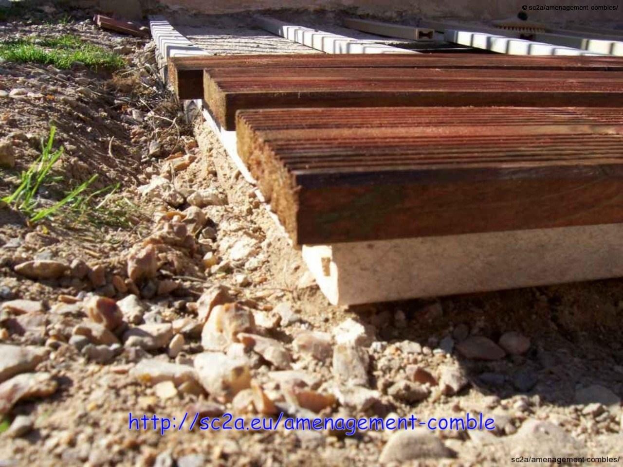 Pose  lames pin autoclave sur les lambourdes 1
