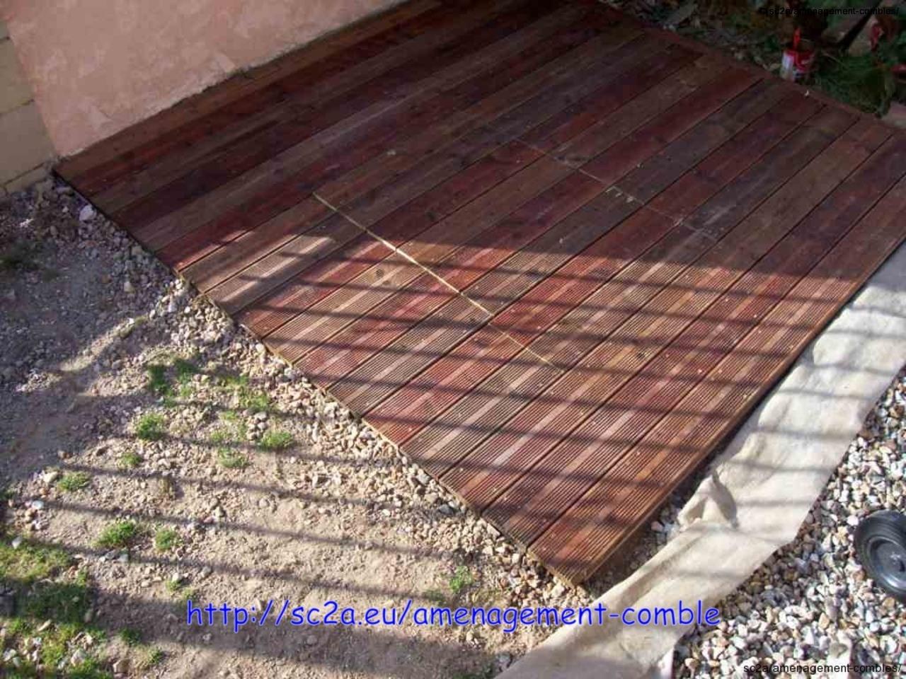 vue de la terrasse en lames pin autoclave 4
