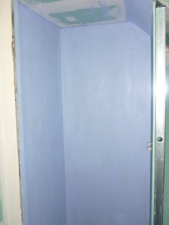 etanchéité pose spec Systeme de Protection à l'Eau sous Carrelage dans douche italienne sur plancher bois