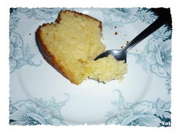 Cake au miel et amandes