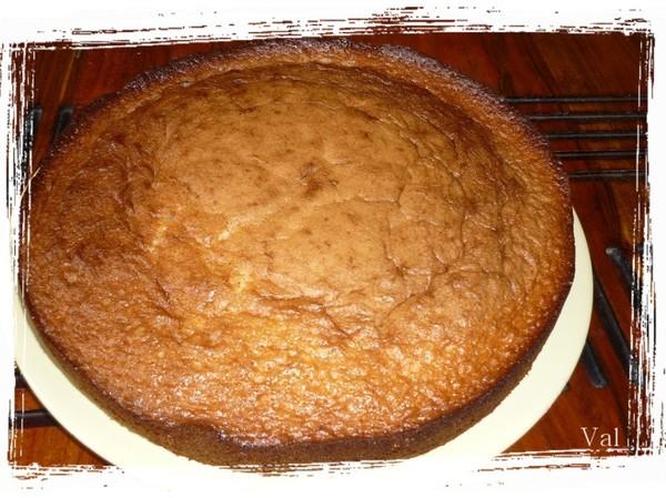 G teau aux noisettes et yaourt la cuisine de val rie for La cuisine de valerie