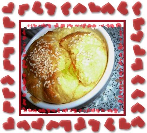 Soufflé gruyère et mimolette