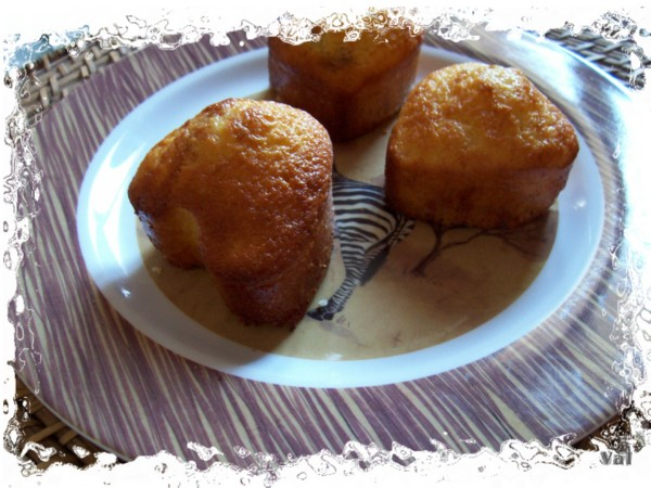 Gâteaux citron et mûre