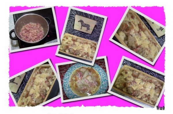 Soupe à l'oignon et herbes de Provence