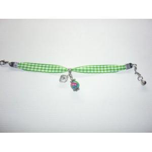 Bracelet Liberty Vichy vert BL1