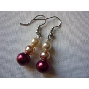 Boucles d'oreilles Perle BO1