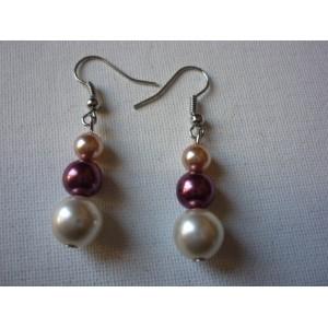 Boucles d'oreilles Perle BO3