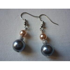 Boucles d'oreilles Perle BO4