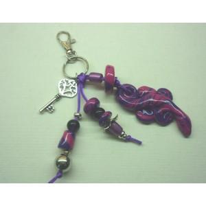 Bijou de sac  Violette BS1