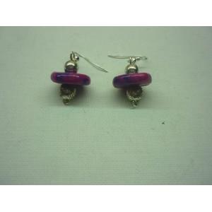 Boucles d'oreilles  Violette BO13