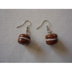 Boucles d'oreilles Macaron BO2