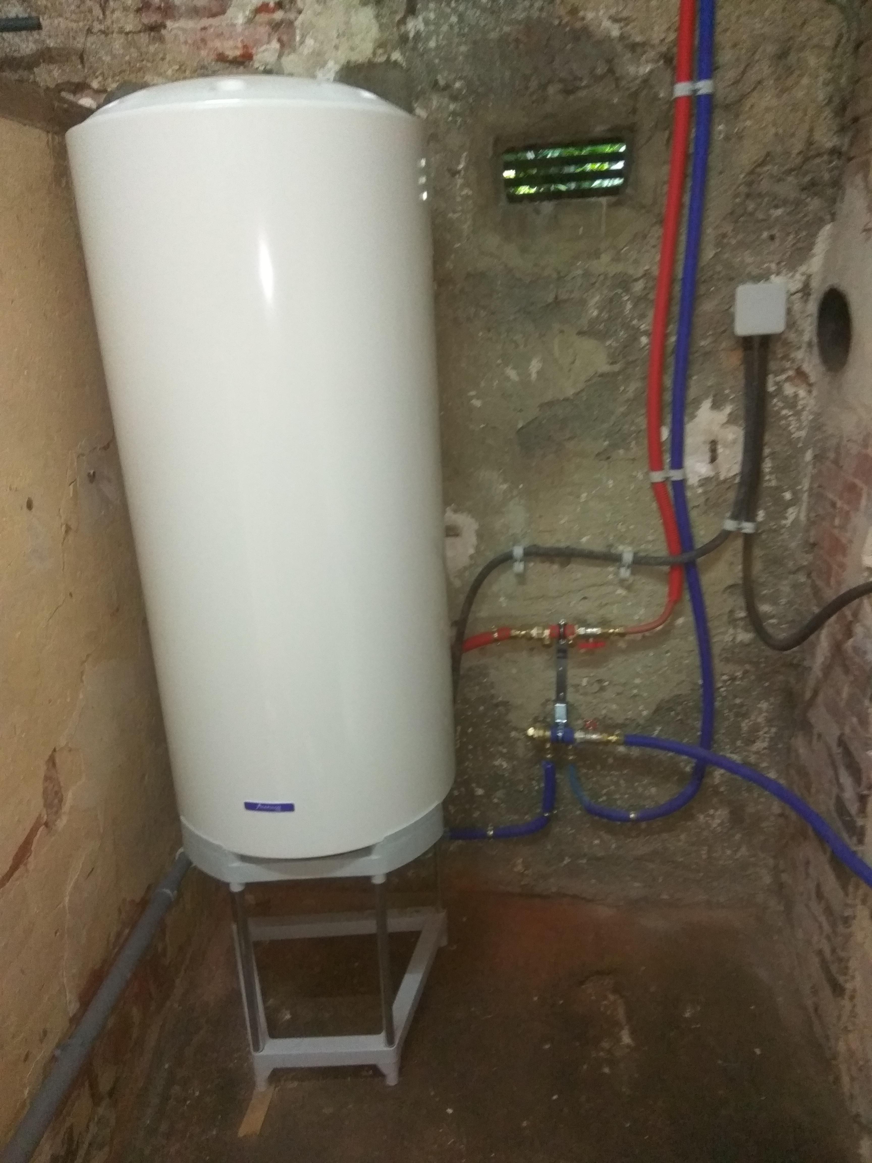 Remplacement d'un chauffe-eau électrique